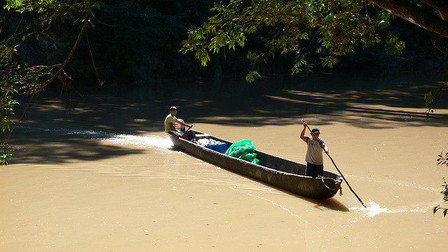 лодка каноэ индейцы