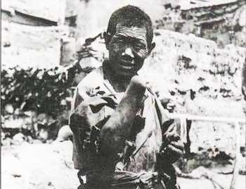 Раб, с отрубленной хозяином рукой.