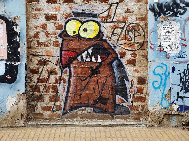 стрит арт картинки на стене гаража фишка этого