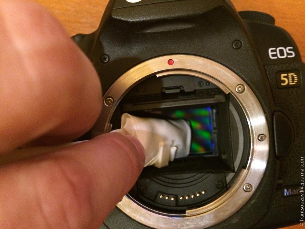 Чем чистить объектив зеркального фотоаппарата